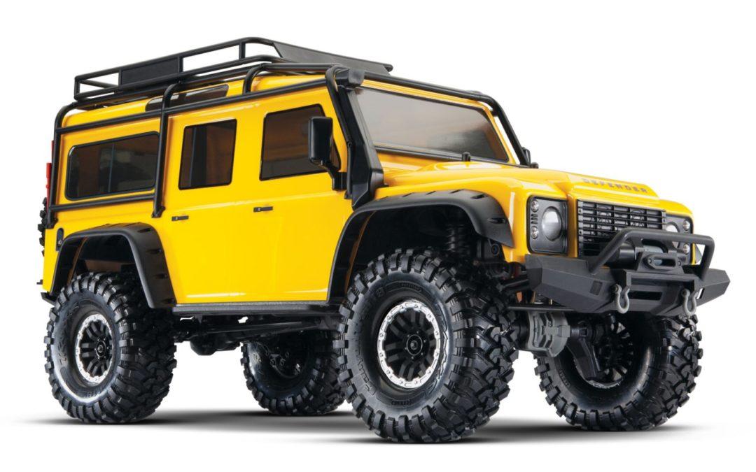 Traxxas TRX4 Landrover Yellow